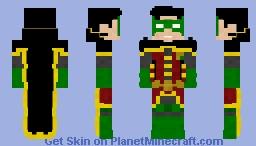 Robin | Dc Rebirth Minecraft Skin