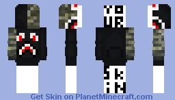 BAPE HOODIE » WITH TUTORIAL TO PUT ON SKIN! « Minecraft Skin