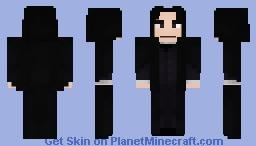 Professor Snape Minecraft Skin