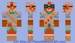Dwarf Blast Master Minecraft Skin
