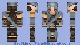 Falmer Armor Skyrim Player(Requested) Minecraft Skin