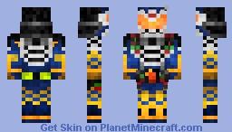 Kamen Rider Gaim Jimber Cherry Arms 仮面ライダー鎧武•ジンバーチェリーアームズ Minecraft Skin