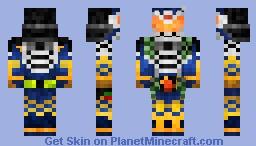 Kamen Rider Gaim Jimber Melon Arms 仮面ライダー鎧武•ジンバーメロンアームズ Minecraft Skin