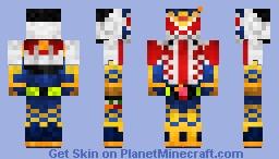 Kamen Rider Gaim Wizard Arms 仮面ライダー鎧武•ウィザードアームズ Minecraft Skin