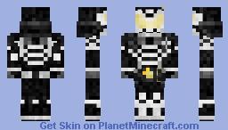 Kamen Rider Gaim Yami 仮面ライダー鎧武 Minecraft Skin