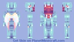 Siren // Ambience's Contest Round 2 Minecraft Skin