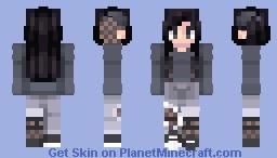 グレイパンク~♡ | 4th raffle winner! Minecraft Skin