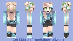 .• Azure •. Minecraft Skin