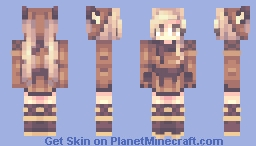 Birthday month Minecraft Skin