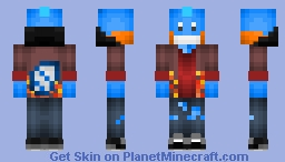 Mudkip Teenager - Fall Edition Minecraft Skin