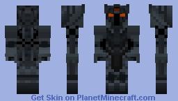 The Three Eyed King Minecraft Skin