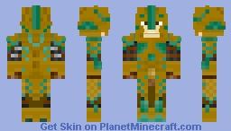 Skyrim Glass Warrior Minecraft Skin