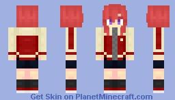 Nishikino Maki [Card# 170] Minecraft Skin