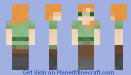 Pixel Alex Minecraft