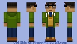 Radar (Minecraft Story Mode) Minecraft Skin