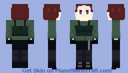 X-Men - Rogue Minecraft Skin