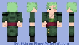 Roronoa Zoro (One Piece) Minecraft