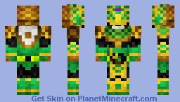 Kamen Rider Ryugen Kiwi Arms 仮面ライダー龍玄•キウィアームズ Minecraft Skin