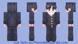 Yandere Simulator - Senpai (Other male students included!) Minecraft Skin