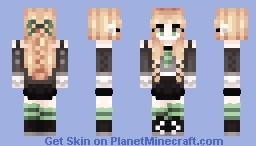 September - Slytherin Girl Minecraft Skin