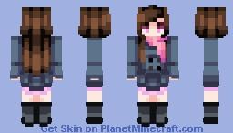 ☆ βενεℜℓγ ☆  Hiyori Iki   (+3 Skins in Desc.) Minecraft Skin
