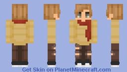 Autumn boy Minecraft Skin