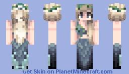 ♦ Mermaid ( Request! And EDITED! Original in description!) ♦ Minecraft Skin