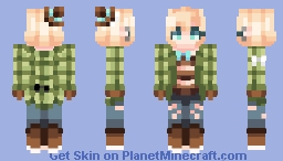 ☆ βενεℜℓγ ☆  Savage~  (OC Piper  ♥) Minecraft Skin