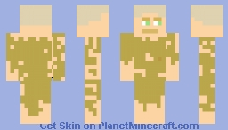 Guy Stranded On Island! Minecraft Skin