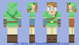 Link SSB4 (Alex Model) Minecraft Skin