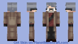 GOOD OLD SIX FINGERS! (Stanford Pines, Gravity Falls) Minecraft Skin