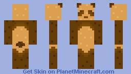 Toast Panda Minecraft Skin