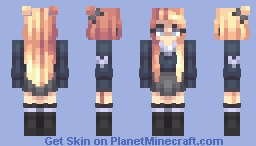 School Girl Minecraft Skin