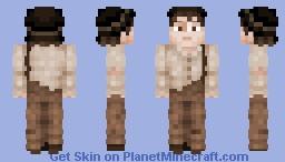 Huckleberry Finn Minecraft Skin