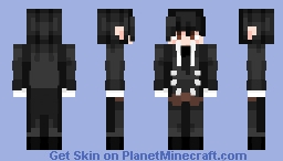 Sebastian from the anime Dark Butler Minecraft Skin