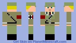 Afrikakorps 1938 Minecraft Skin