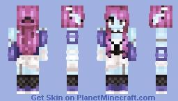 Arysha - Cyberpunk Girl Minecraft Skin
