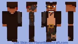 Long John Silver - Treasure Planet Minecraft Skin
