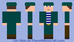 Captian 1909 Minecraft Skin