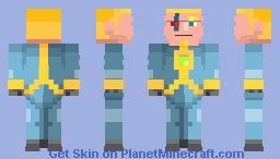 Inieloo | Cyberpunk - Student Show Minecraft Skin