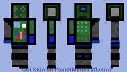 Dos Man Minecraft Skin