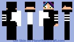 Cybergirl Minecraft Skin