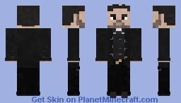 Jesse Custer [Preacher] 1x01 Minecraft Skin