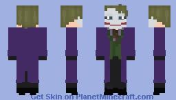 The Joker : The Dark Knight Minecraft Skin