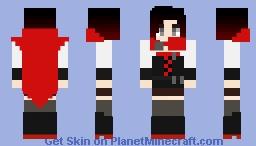 Ruby Rose (RWBY) Minecraft Skin