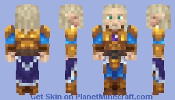 High elf Minecraft Skin