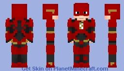 Flash-DCEU Minecraft Skin