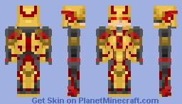 Reverse flash-injustice 2 Minecraft Skin