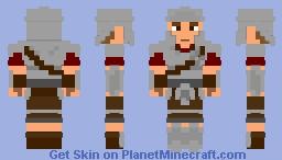 Imperial Heavy Armour(Skyrim) Minecraft Skin