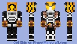Kamen Rider Knuckle Jimba Marron Arms 仮面ライダーナックル•ジンバーマロンアームズ Minecraft Skin